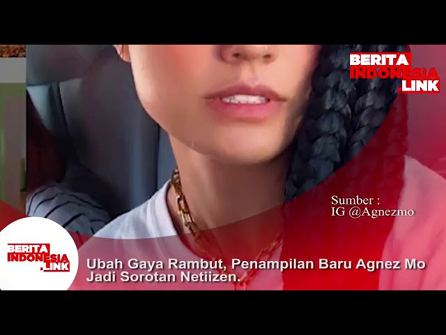 Ubah gaya Rambut, Agnes Mo jadi sorotan Netizen.