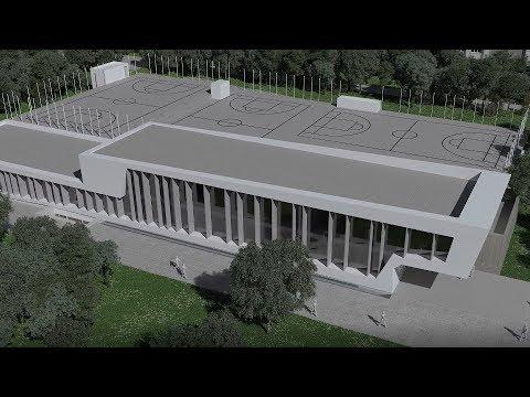 Así será o novo centro deportivo de Campolongo