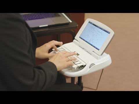 Video:  Learn about the steno machine