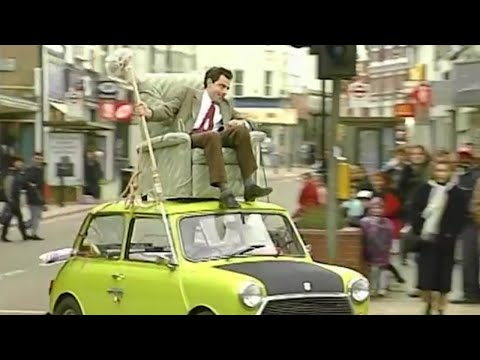 DoItYourself Mr. Bean  episode 9  Classic Mr. Bean