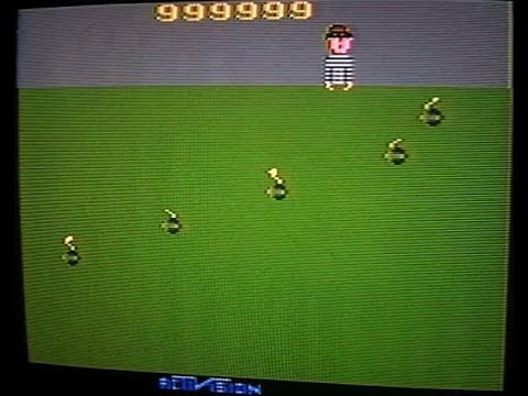 Kaboom 999,999 - World Record - Atari 2600 - Activision