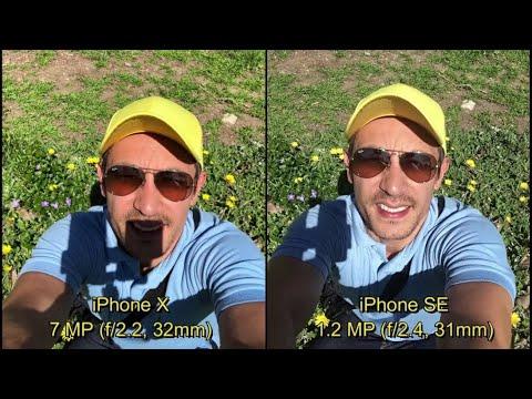 IPhone X Vs IPhone SE: Camera Comparison On Selfie Side - A Huge Improvement?