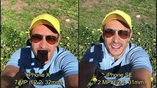 iPhone X vs iPhone SE: Camera Comparison On Selfie Side - A Huge Improvement?