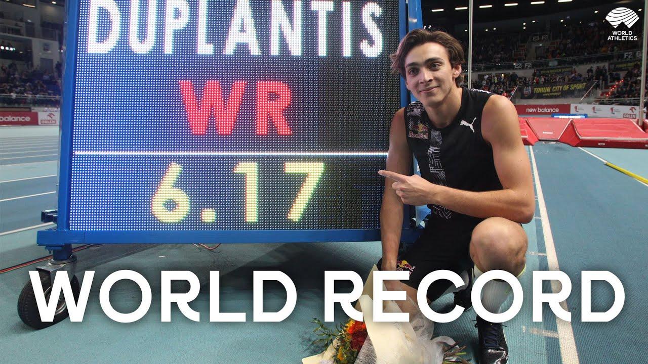 Download Armand Duplantis   6.17m Pole Vault World Record