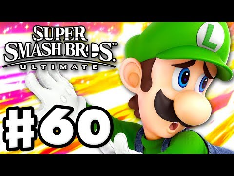 Luigi - Super Smash Bros Ultimate - Gameplay Walkthrough Part 60 Nintendo Switch