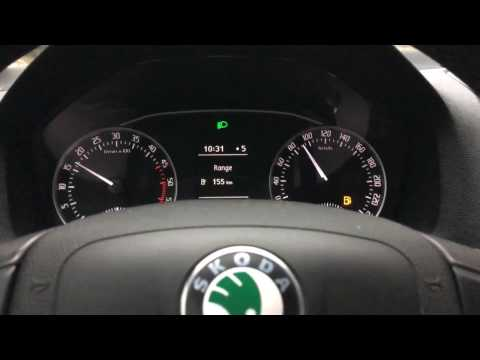 Fuel Consumption Skoda Octavia 1.6 TDI 105 HP ( 2013 Diesel