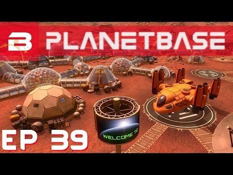 PlanetBase - Recycling & Upgrading - Ep 39 (Space Survival Strategy Gameplay)