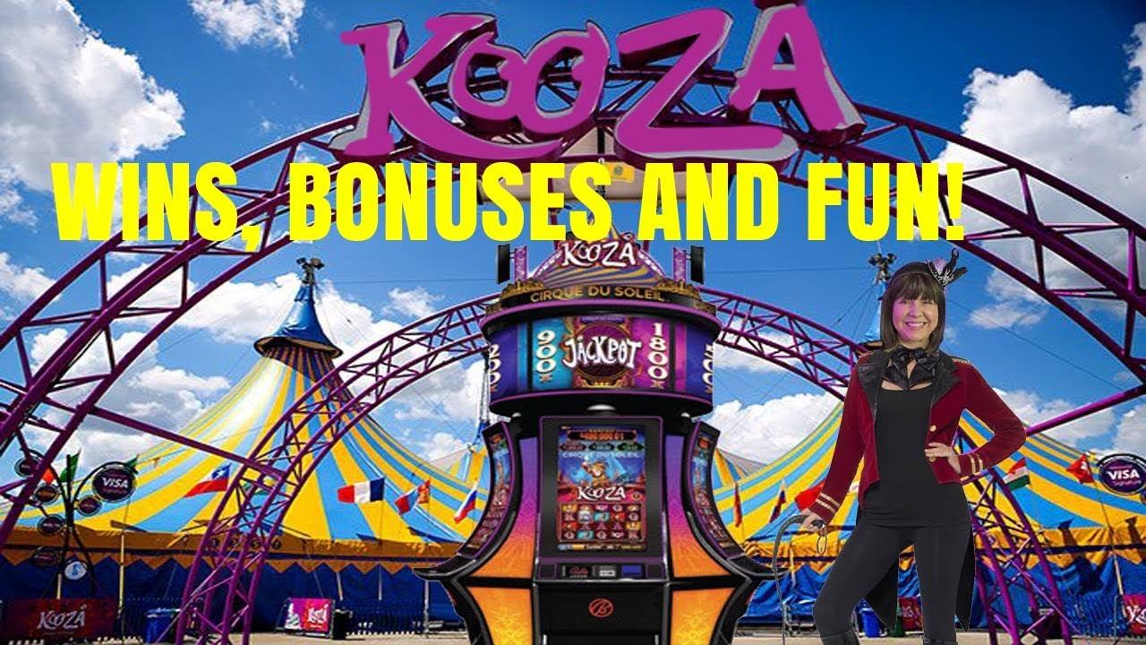 Kooza slot machine