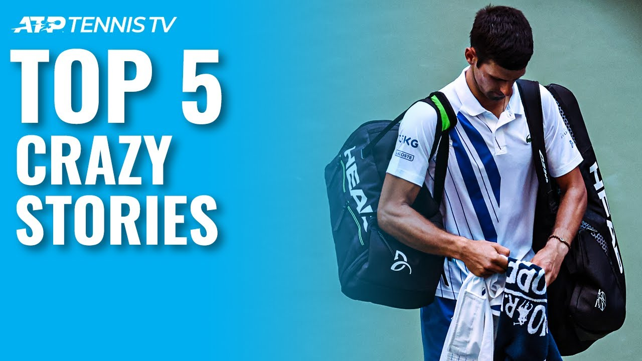 Top 5 Crazy Stories from the 2020 Tennis Season!