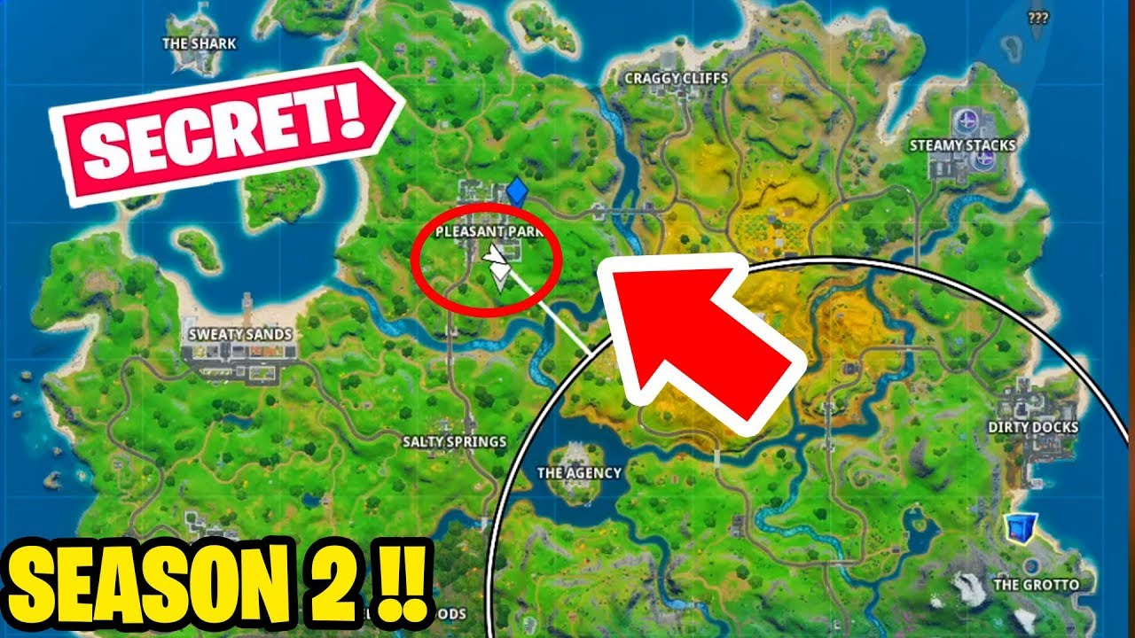 Secret Area For Shadow Brutus In Fortnite Shadow Safe Houses Season 2 Chapter 2 Youtube