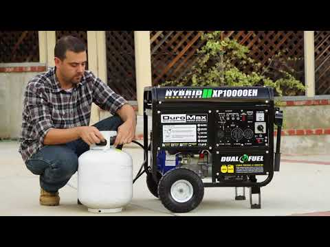 DuroMax XP10000EH Hybrid Dual Fuel Generator - All For Everybody