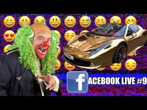 El Ferrari Dorado en el FBLIVE!