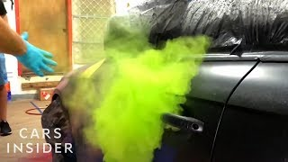 Colorful Paint Bombs Can Give Your Car A Galaxy-Inspired Look thumbnail