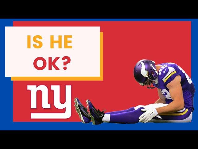 New York Giants: Kyle Rudolph Injury Update