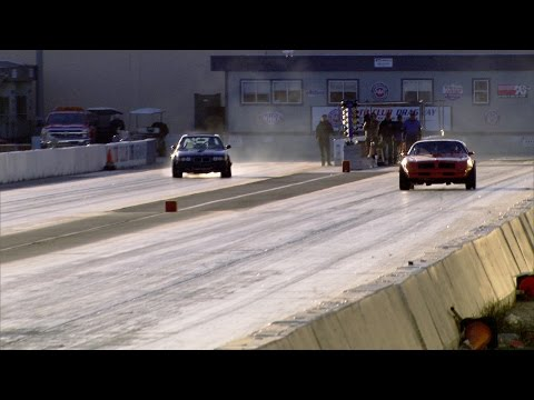Watch AZN Drop The Hammer While Aaron Drifts Down The Drag Strip
