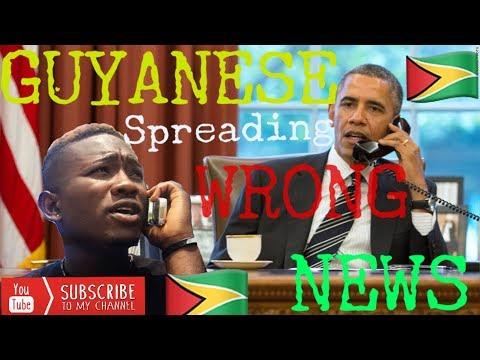 GUYANESE SPREADING NEWS (CARIBBEAN COMEDY)