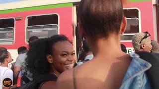 Safari ya KIGOMA: Tazama DIAMOND,UWOYA,RAY VANNY na mastaa wengine wakianza safari kutoka STATION