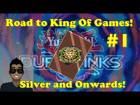 Yu-Gi-Oh Duel Links - Road to King of Games! Part 1 - Silver & Onwards!