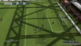 FIFA 14 | AC Milan VS Juventus FC | AMD Radeon HD 7670m MAX GRAPHICS