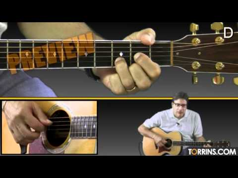 Handy Man (James Taylor) Guitar Lesson...