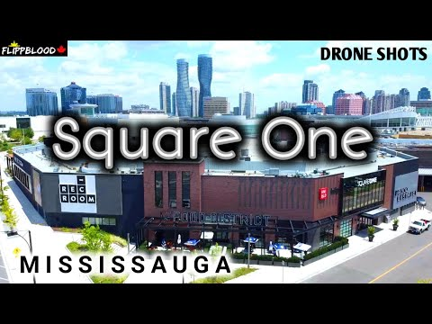 LARGEST Shopping Mall In Ontario  //  SQUARE ONE  // 4K Drone Shots  //  Mississauga / CANADA / 2020