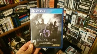 Resident Evil 6 Ps4 Unboxing !!!