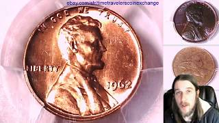 Coin Video of 1962 P Lincoln Memorial Cent PCGS MS 65 RD 39210737 Video