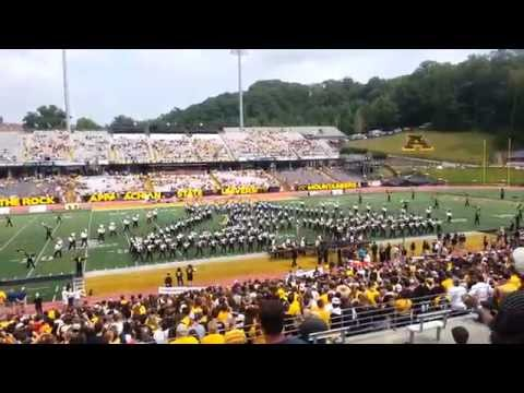 Appalachian State Marching Mountaineers Pre-Game 2015 ASU vs. Howard