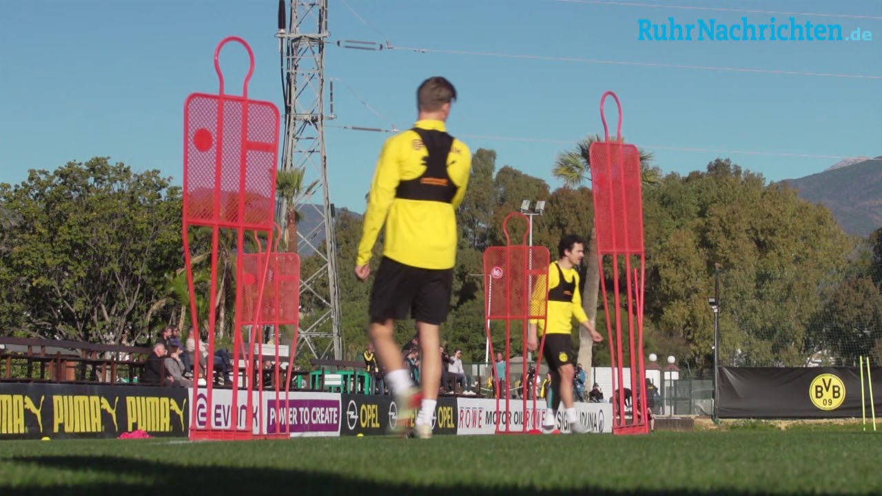 Tag sechs des BVB-Trainingslagers in Marbella