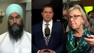 Leaders react to Trudeau's brownface photo