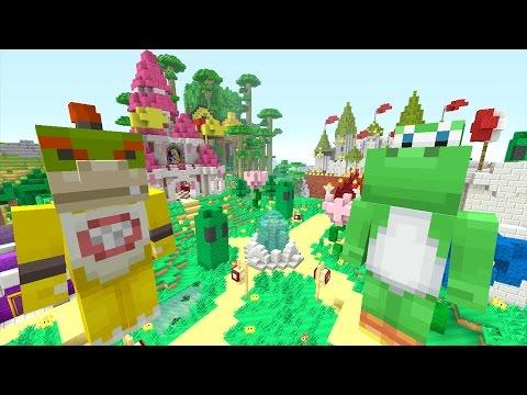 Minecraft Wii U - NEW Super Mario Adventures - Nintendo Kingdom! [3]