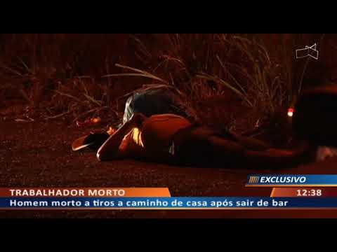 DFA - Homem morto a tiros a caminho de casa após sair de bar