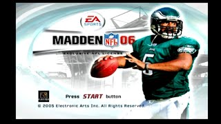 Madden NFL 06 -- Gameplay (PS2)