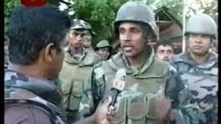 LTTE Thrashed & Lion Flag Raised At Mallavi By Sri Lanka Army