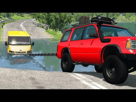 Cars vs Deep Water #2 – BeamNG.Drive