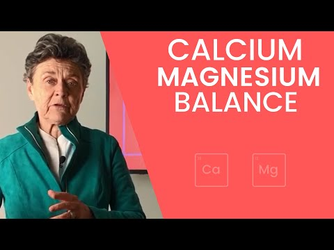 Minute With Dr. Brown: Calcium Magnesium Balance