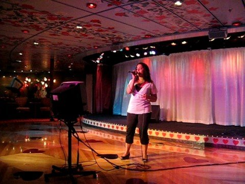 Carnival Cruise Karaoke Night Youtube