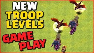 Clash of Clans NEW UPDATE GAMEPLAY! New CoC Troop Levels June 2017