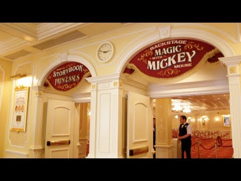 Town Square Theater Meet n Greet (Interactive Guide to the Magic Kingdom Disneyworld)