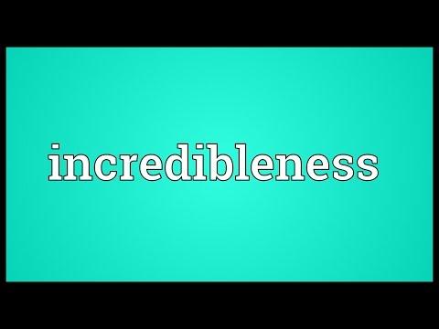 Header of incredibleness