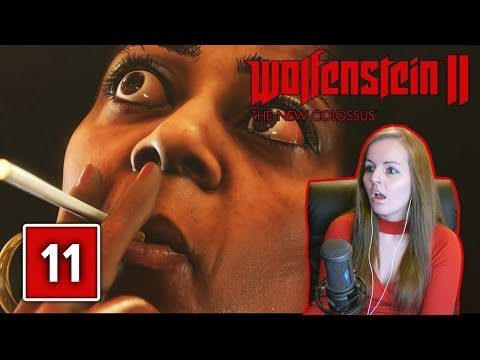 IS THIS FOR REAL? | Wolfenstein 2 The New Colossus Gameplay Walkthrough Part 11