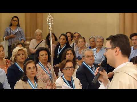 P. SOCORRO - MISA - SANTUARIO MADRID - 27-6-17