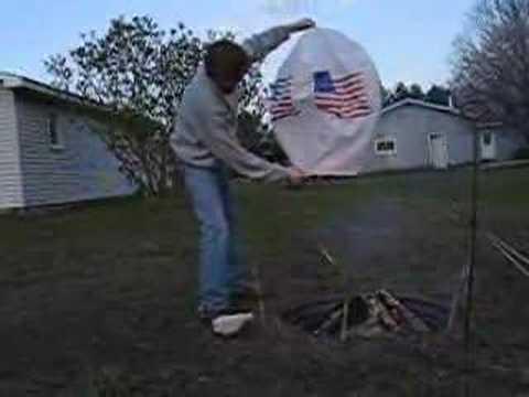USA Sky Lantern - Heavy Wind