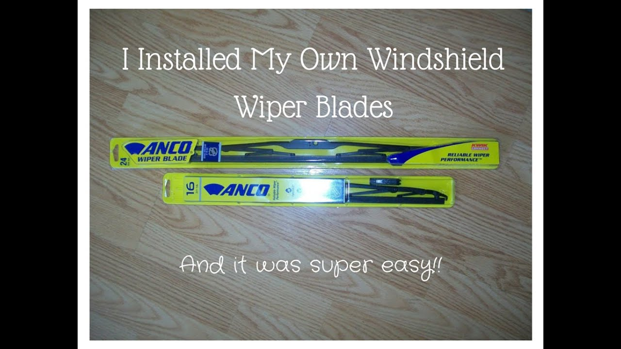 Anco Wiper Blades >> Ezwipers Com Anco Wiper Blade Installation Ezwipers