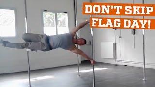 Oameni care pot sta ca un steag :))