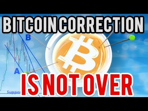 BEWARE! Bitcoin Correction Is NOT Over Yet!