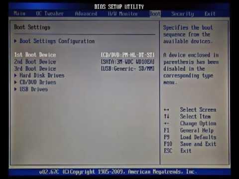 Видео урок 2 подготовка к установке Windows