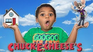 GOO GOO GAGA TRANSFORMED HOUSE INTO CHUCK E CHEESE'S!