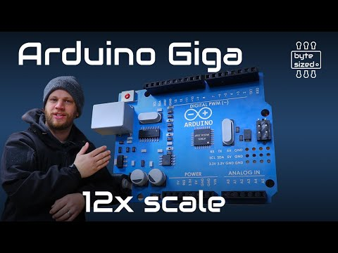 A Gigantic Arduino Board That Works!