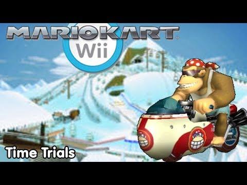 Slim Plays Mario Kart Wii - Time Trials